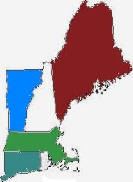 6 States of New England
