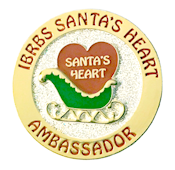 Santa's Heart Participation Pin